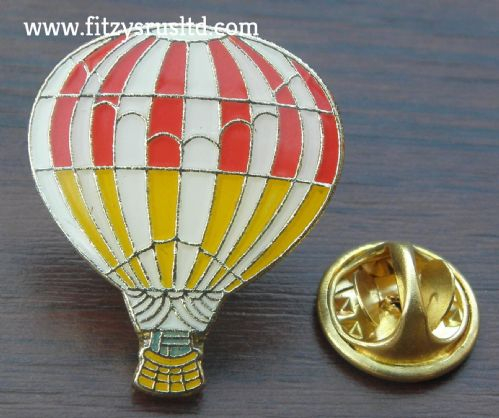 Hot Air Balloon Metal Lapel Hat Cap Tie Pin Badge Brooch Gift Souvenir